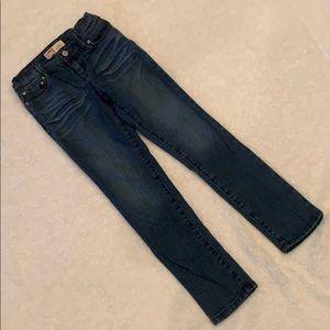 "l.e.i girls ""Kate"" lowrise skinny jeans"